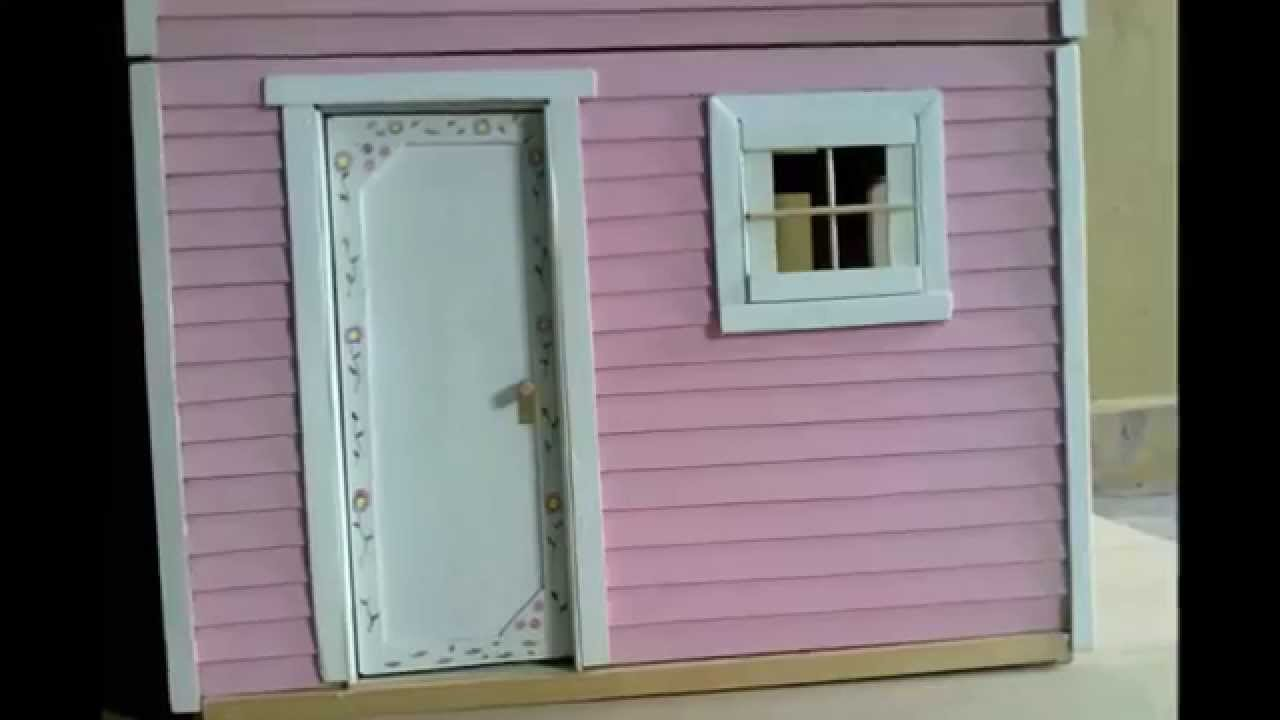 Una casa para mu ecas youtube for Casas para construir