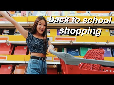school supplies shopping + haul   back to school 2019!