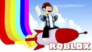Roblox - VOANDO COM FOGUETES !!
