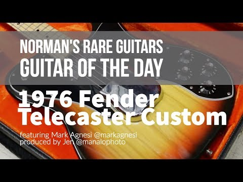 Guitar of the Day: 1976 Fender Telecaster Custom | Norman's Rare Guitars