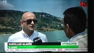 Sadullah alagöz ülke tv spor ve spor programı