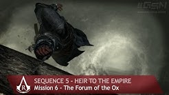 Assassin's Creed: Revelations - Sequence 5 - Mission 6 - The Forum of the Ox (100 % Sync)