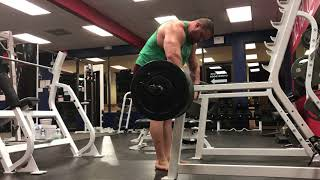 495lbs x 25 Romanian Deadlift