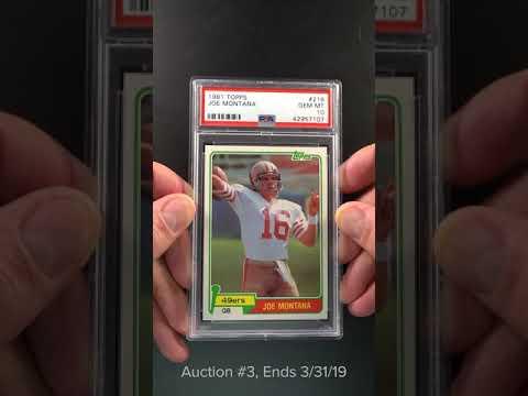 1981 Topps Football Joe Montana Rookie Rc 216 Psa 10 Gem Mint Pwcc
