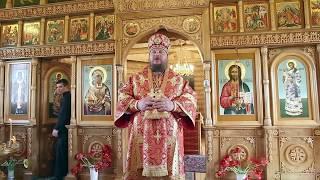 Слово митрополита Ферапонта в день Отдания праздника Пасхи