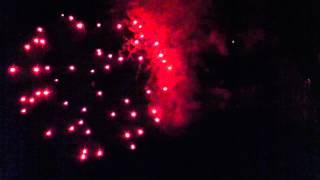 Fireworkshow l'ile chambod 2012