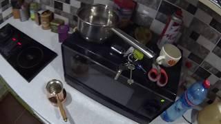 Турка медная, а плита индукционная.Как варить кофе? Решено.