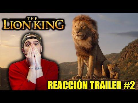 Vídeo Reacción: EL REY LEÓN (The Lion King) Trailer Oficial #2 | SIN PALABRAS... | #DISNEY