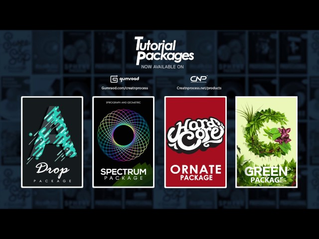 Tutorial Packages V1 Update | Green, Ornate, Spectrum, Drop