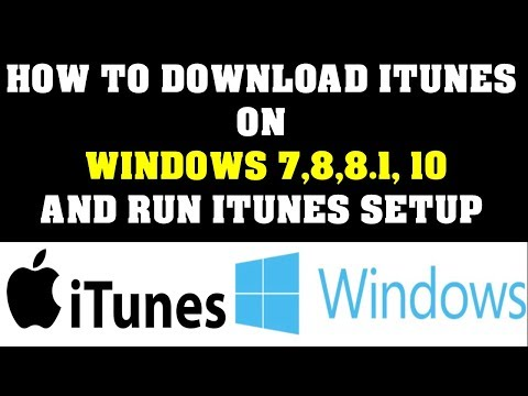 How to Download iTunes to your computer and run iTunes Setup Newest