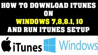 Gambar cover How to Download iTunes to your computer and run iTunes Setup   Newest Version 2019   Starters Video