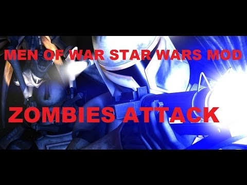 Men of War Assault Squad - Star Wars Mod ~ Halloween Zombie Special