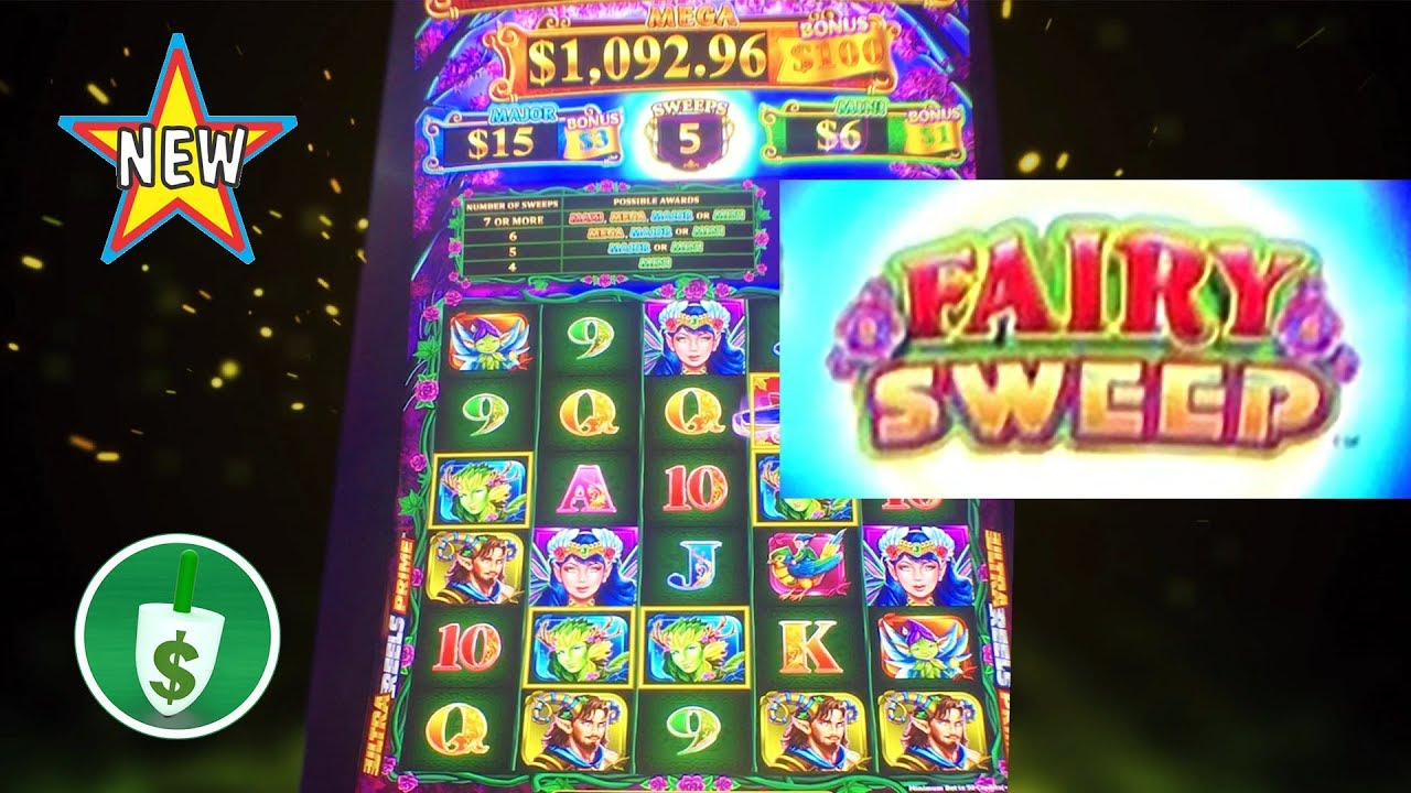 ⭐️ NEW - Fairy Sweep slot machine, bonus