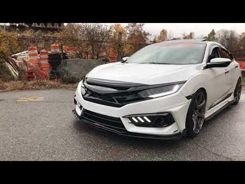 Honda Civic Morimoto XB LED Headlights