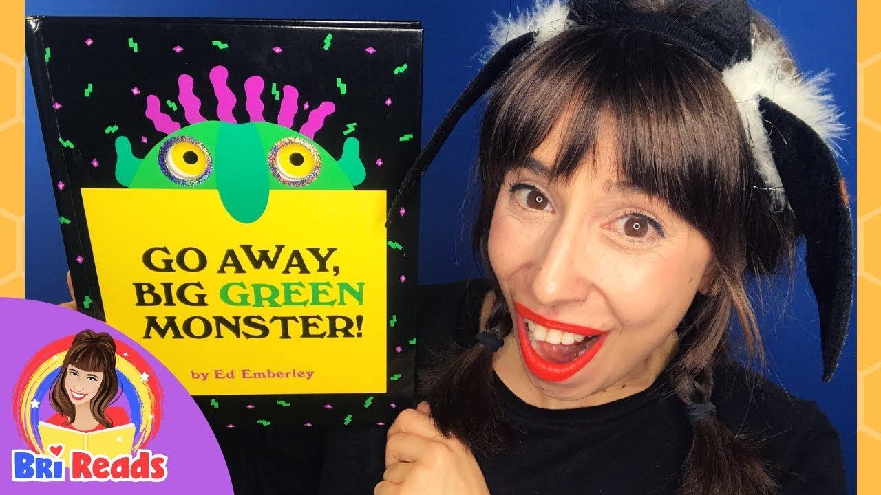 Download Go Away Big Green Monster   Read Aloud Story    Halloween Book for Kids