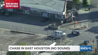 WATCH LIVE: Air 11 over chase in East Houston