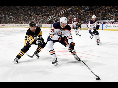Edmonton Oilers vs Pittsburgh Penguins - October 24, 2017 | Game Highlights | NHL 2017/18