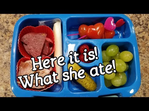 Twenty-Second Week Of School Lunches - What She Ate - Bento Style Lunch - Bentgo Box - Bento Lunch