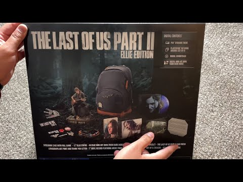 The Last Of Us Part II Unboxing: Ellie Edition! (The Last Of Us Part 2)
