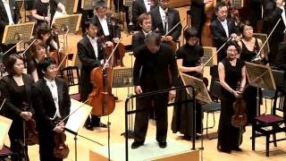 Myung-Whun Chung conducting Tchaikovsky Symphony No. 4 excerpt from 4th mvt.