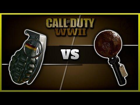 Frag vs Sticky Grenade!   CoD WW2 Lethal Stats & Comparison! (Best Lethal)