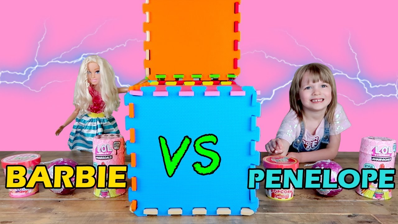 Twin Telepathy Toy Unboxing With Barbie Foodie Roos L O