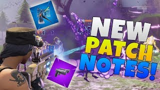 Fortnite Update 4.5 Patch Notes | Fortnite Dual Pistol Update & Blockbuster Part 4 Questline