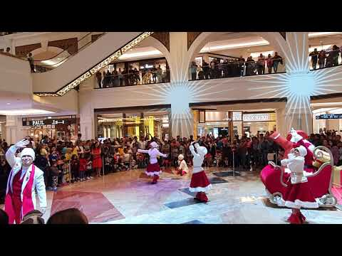 Celebration of Christmas in Emirates Mall Dubai for 2020