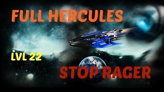 Paradox - Darkorbit | Full Hercules & LVL 22