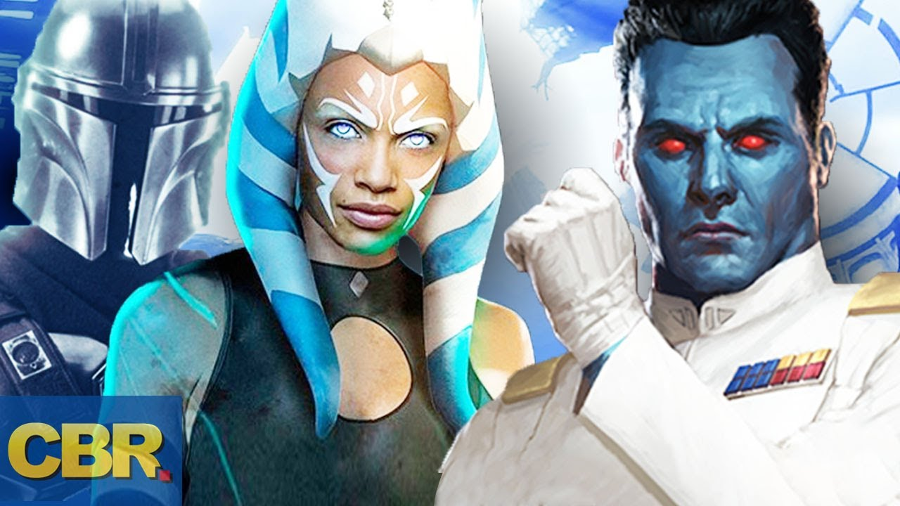 The Mandalorian: Ahsoka Tano, Admiral Thrawn, and Ezra Bridger ...