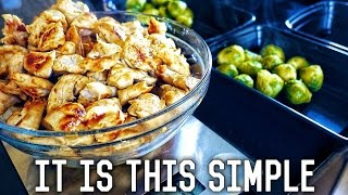 Beginners Guide To Meal Prep | Low Carb Fat Loss Diet