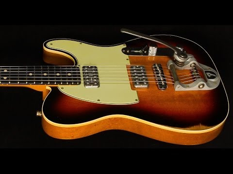 fender custom shop 2014 namm double tv jones telecaster relic sn