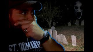 RETURNING TO THE  HAUNTED CEMETERY (GHOST CAUGHT ON CAMERA) PARANORMAL ACTIVITY | JEFFREY M. ORTEGA