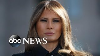 Melania Trump forgoes campaign trail due to lingering cough l GMA