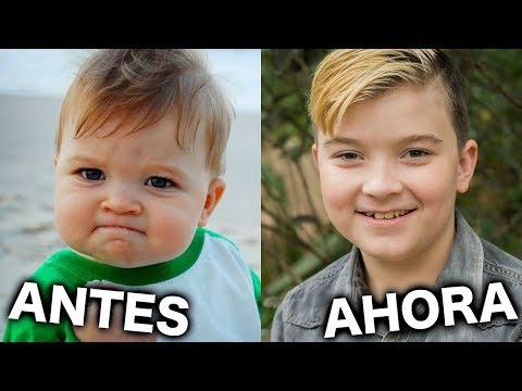 MEMES FAMOSOS ANTES Y AHORA