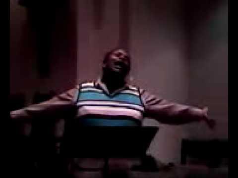 Calesta Day singing Moses Hogan Hear My Prayer with Dr. Kathy Bullock on piano take 2