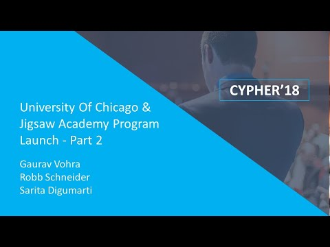 University of Chicago & Jigsaw Academy Program Launch | Press Conference