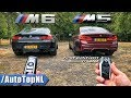BMW M5 F90 vs M6 F06 REVIEW POV on AUTOBAHN & ROAD by AutoTopNL