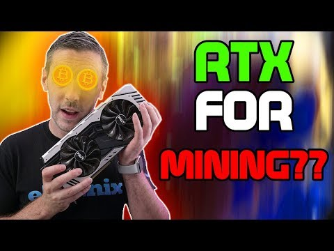 Can The RTX 2080 Mine?? - NiceHash TESTED!