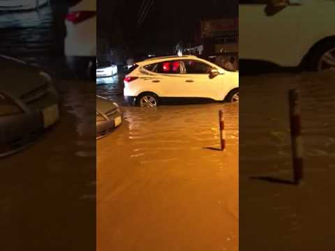 170804 Flooded streets in Khartoum - Radio Dabanga