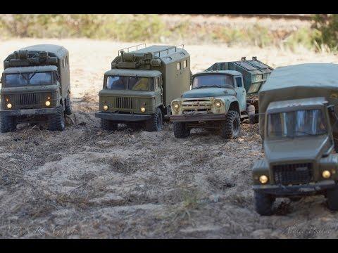 Достояние СССР. Советские грузовики / The parade of Russian trucks!