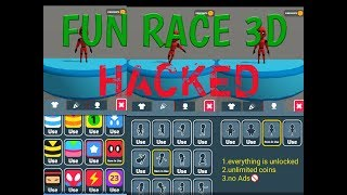 FUN RACE 3D HACKED | Unlocked everything &Unlimited coins🤑 | by MASSMEDIA