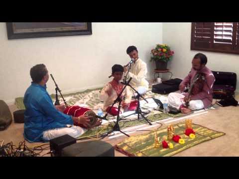 Janani Janani Janani Jagath karani Purani by Vighneshwar Anantharamakrishnan on 20th July 2014