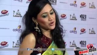 Disha Vakani @ 2013 Indian Telly Awards
