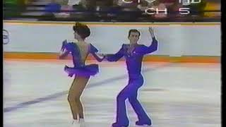 1988 Olympics Freedance Australia Rodney Clarke and Monica MacDonald