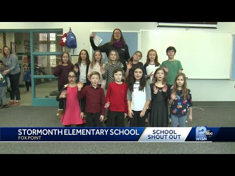School shout out: Stormonth Elementary School