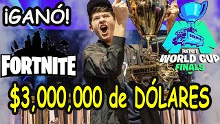 16-Year-Old BUGHA is NEW FORTNITE WORLD CUP WIN 3,000,000 Dollars 28-JULY-2019