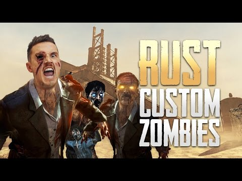 Call of Duty: 'RUST' Zombie Map! (Custom Zombies)