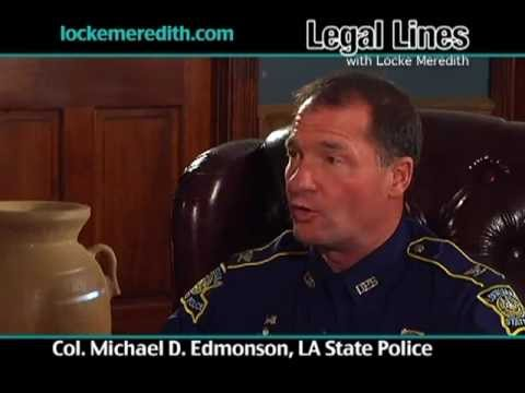 La State Police Colonel Michael Edmonson, how Law Enforcement Agencies work together to fight crime