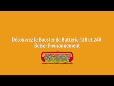 Booster de démarrage Multifonctions Pro 12v et 24v